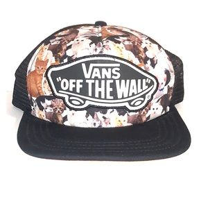 """Vans """"OFF THE WALL"""" snap back hat"""